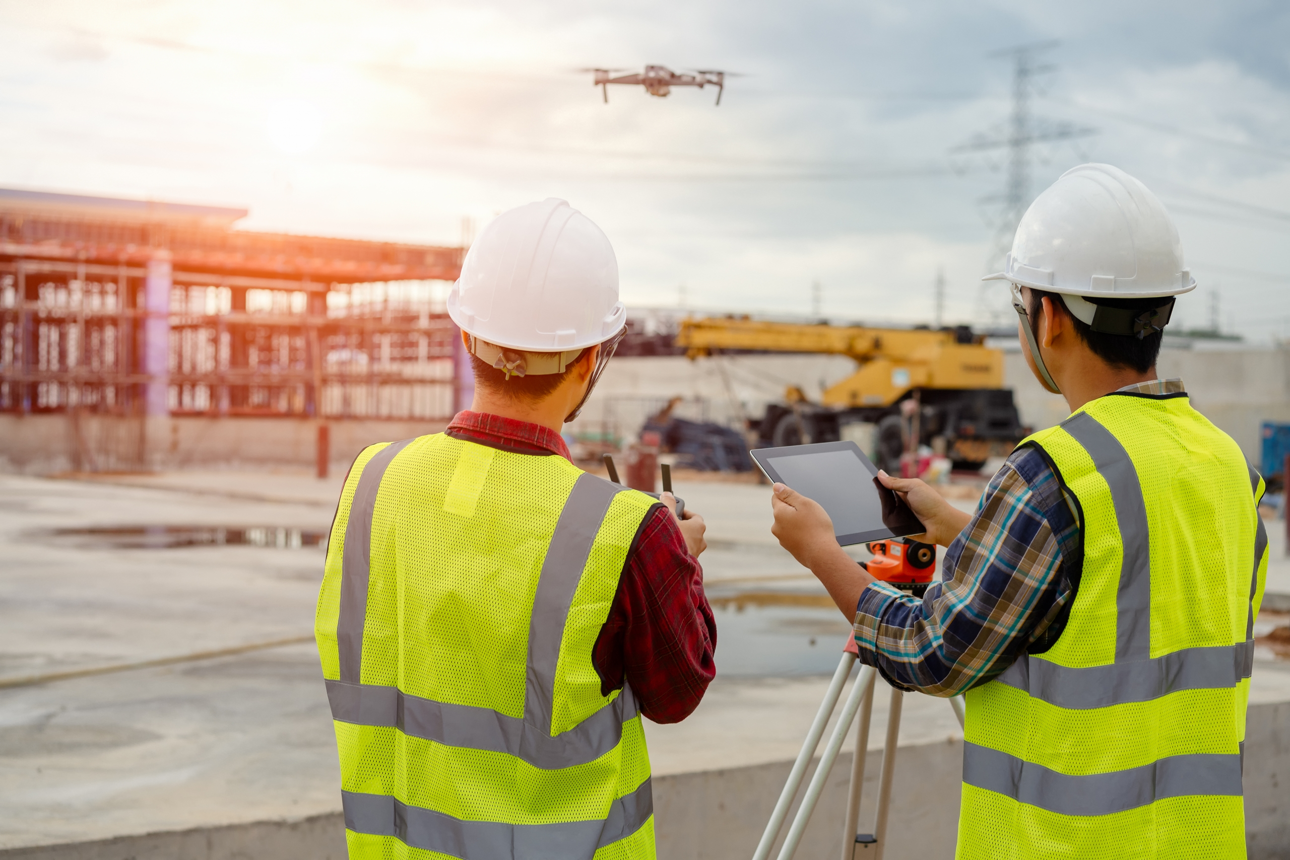 drone cantiere app HSE