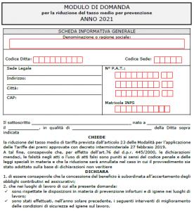 modulo OT23 2021